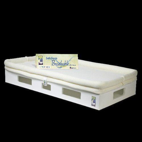 Secure Beginnings Safesleep Breathable Crib Mattress, White/Ivory  http://www.babystoreshop.com/secure-beginnings-safesleep-breathable-crib-mattress-whiteivory/
