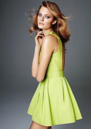 H & M collection made out of sustainable materials using organic cotton, hemp and recycled polyester.