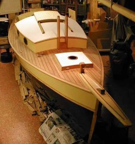 One being built by a Swedish boat builder...