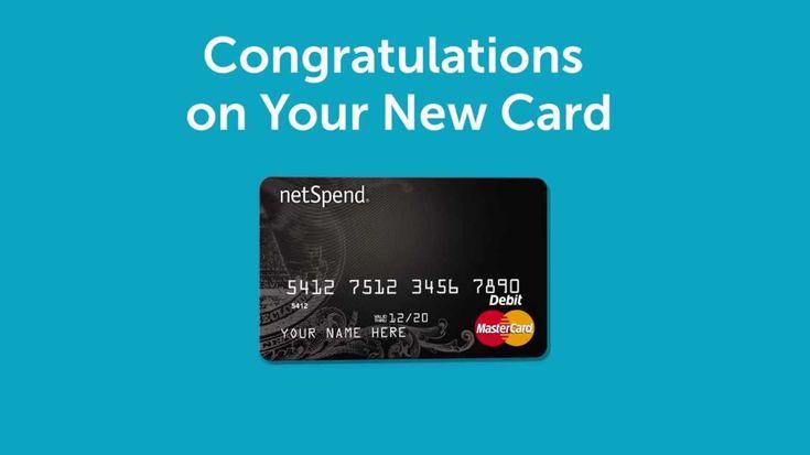 Activate netspend card debit card cards debit