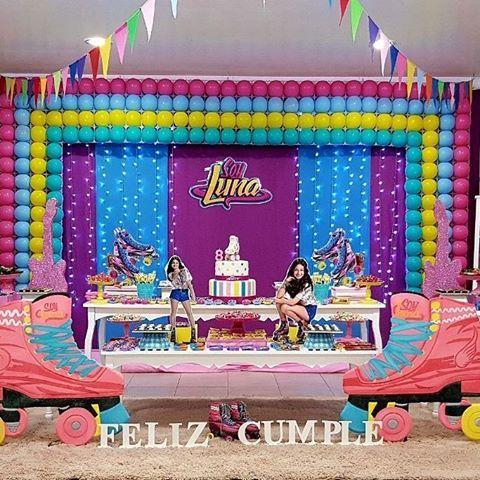 Promo Invierno. Deco Soy Luna ⛸ #playparkpy #soylunaparty #fiestasoyluna #soylunabirthday