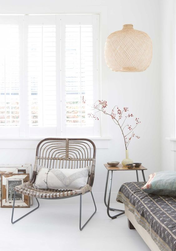 Adding natural textures and a laid-back vibe to our homes, bamboo furniture and accessories are the cool way to bring the outside in.