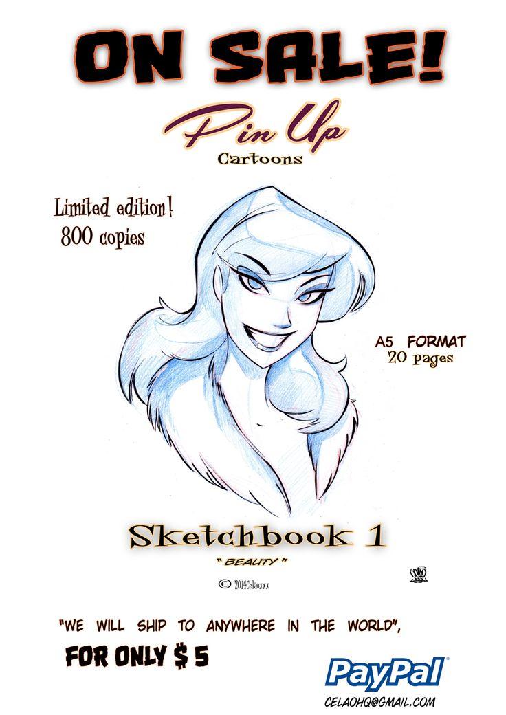 Pin up cartoon book for sale One dollar by celaoxxx.deviantart.com on @deviantART