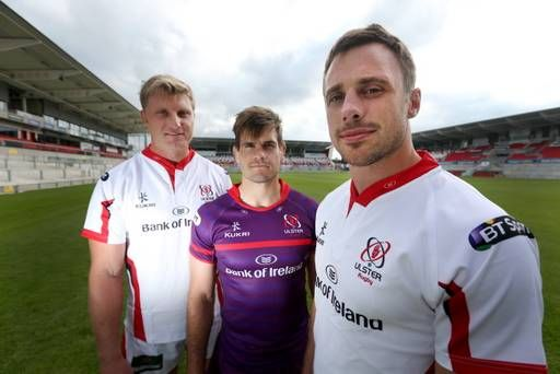 Is purple the new black? Ulster Rugby's new home and away kits are revealed - http://rugbycollege.co.uk/rugby-news/is-purple-the-new-black-ulster-rugbys-new-home-and-away-kits-are-revealed/