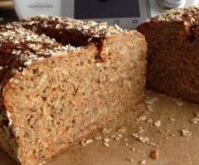 Rezept Fitness Vollkornbrot super saftig & saulecker von Thermiqueen Nadine - Rezept der Kategorie Brot & Brötchen (Fitness Food Breads)