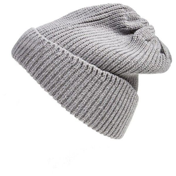 Women's UGG Australia Ribbed Knit Beanie ($29) ❤ liked on Polyvore featuring accessories, hats, beanies, hair, brimmed beanie hats, slouch beanie, wide hat, brimmed hat and slouch beanie hats