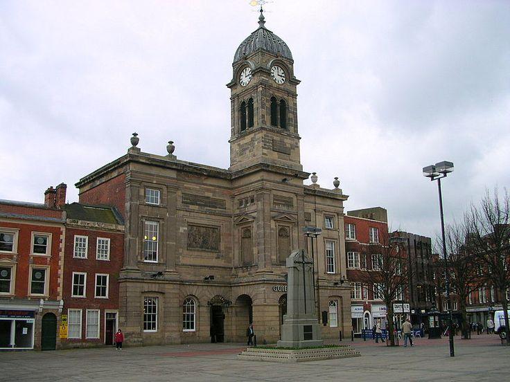Derby    ~   Guildhall.