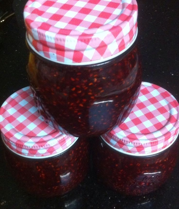 What an addition to the pantry! Freshly made Raspberry Jam! Check out our video!