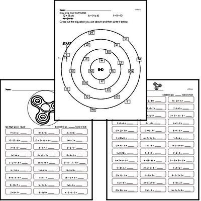 Order Of Operations 6th Grade Math Worksheets Page 2 di