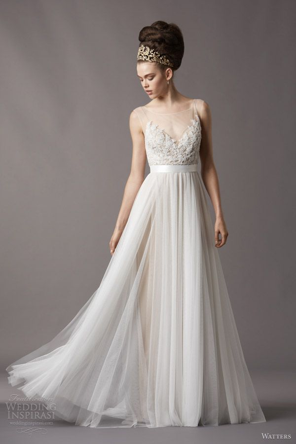 Love Watters Spring 2017 Bridal Jacinda Wedding Dress 4061b