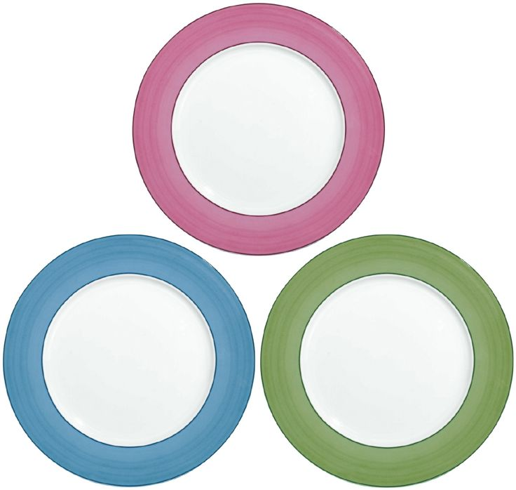 #Raynaud - Limoges #porcelain - the 3 colors of the Pareo  collection