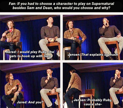 Jared and Jensen convention panel