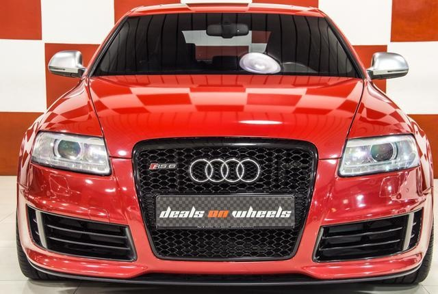 Dubizzle Dubai | RS6: 2009 Audi RS6 GCC Specs With Full Service History from Ali & Sons - Under warranty Till March 2014