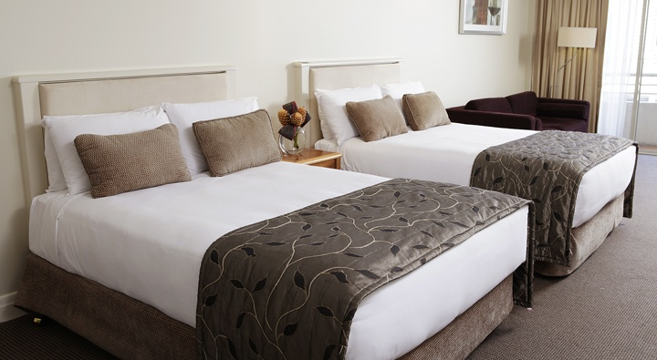 Brisbane Accommodation   Rydges South Bank Hotel   Deluxe Twin Room