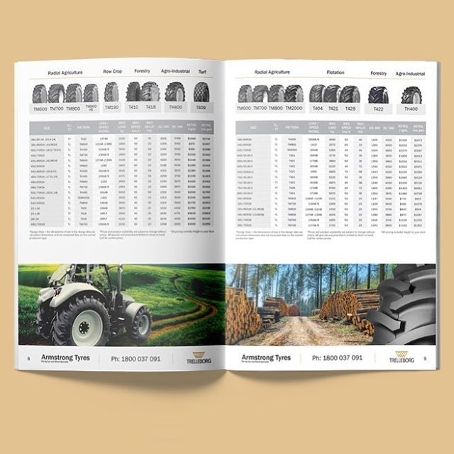 This is one of the ag tyre brochures we designed and printed for @trelliborgagri . . . . . #ag #agruculture #tyres #tractor #graphicdesign #graphicdesigner #brochure #printdesign #trelleborg #branding #print #logo #logodesign #webdesign #creativeagency #creativestudio #brochuredesign #marketing #advertising #layout #farm #melbournedesign #bendigo #creativedesign #indesign #booklet #ui #businessmarketing #identity #business