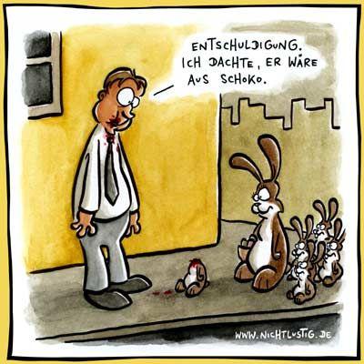 An Ostern ist beim Schlickern besondere Vorsicht geboten! ;)