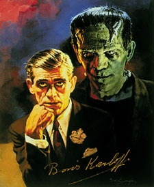 Basil Gogos art --  the old monsters -- what fun!