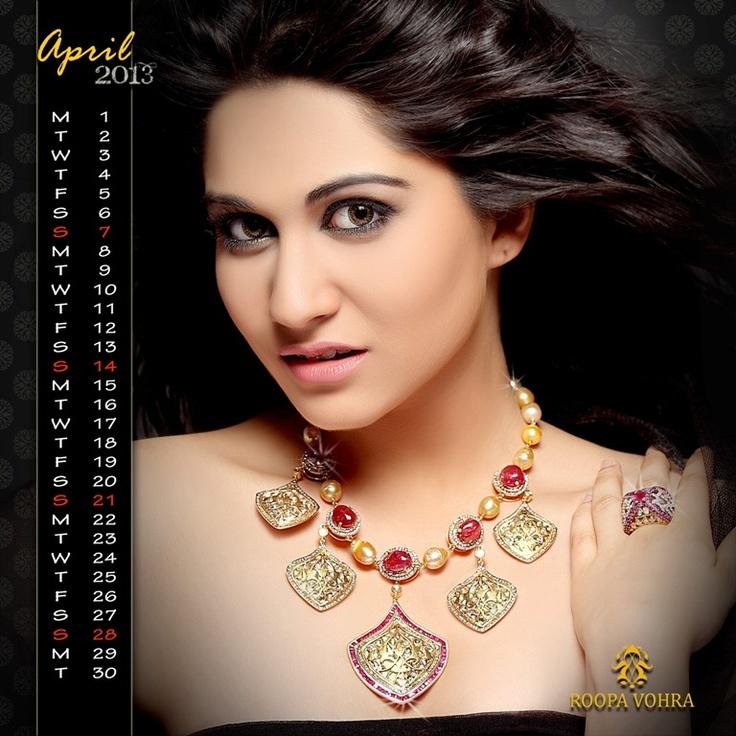 RV Calendar 2013 April