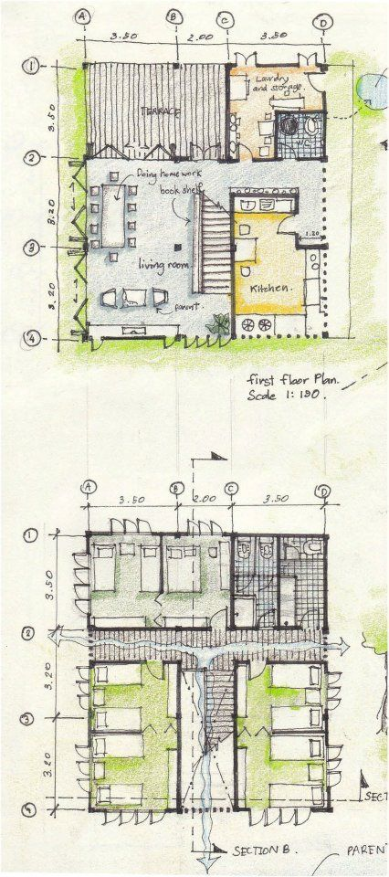 Architectural drawings by Agora architects - www.salfo.it -  mauro@salfo.it +39.339.78.54.440