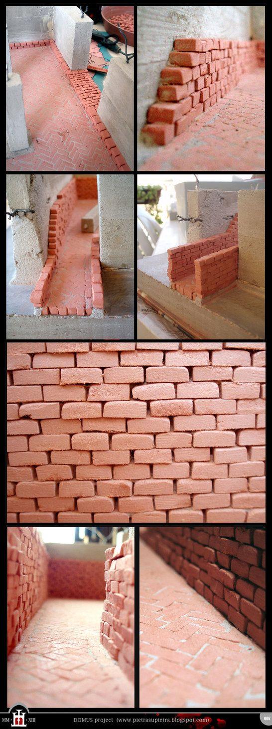 Domus project 7: Brick walls (part I) by Wernerio on deviantART