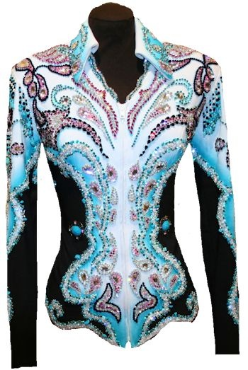 Walk This way ~ showtime show clothing  Beautiful for western pleasure halter class!