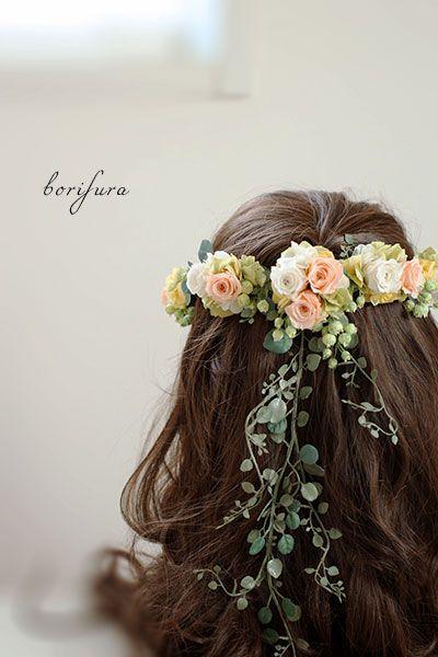 花嫁 ヘアスタイル 人気