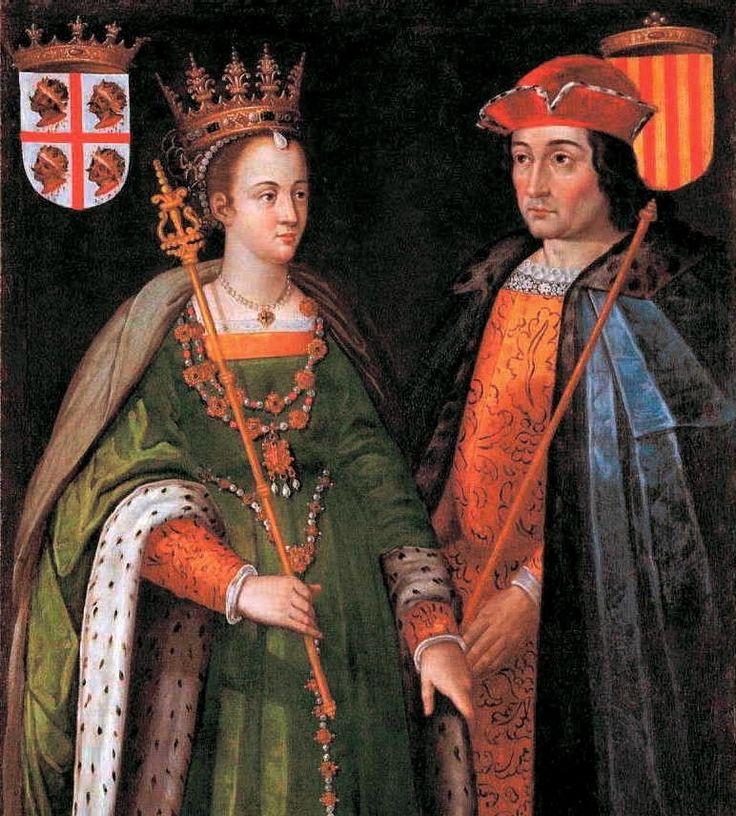 TRATADO DE ALCÁÇOVAS-TOLEDO - REIS eATÓLICOS, renunciavam ao trono de Portugal, também acordando o casamento da INFANTA ISABEL, sua filha com o filho do rei português D. AFONSO. O enorme dote pago pelos pais da noiva representava a indemnização de guerra obtida por Portugal.