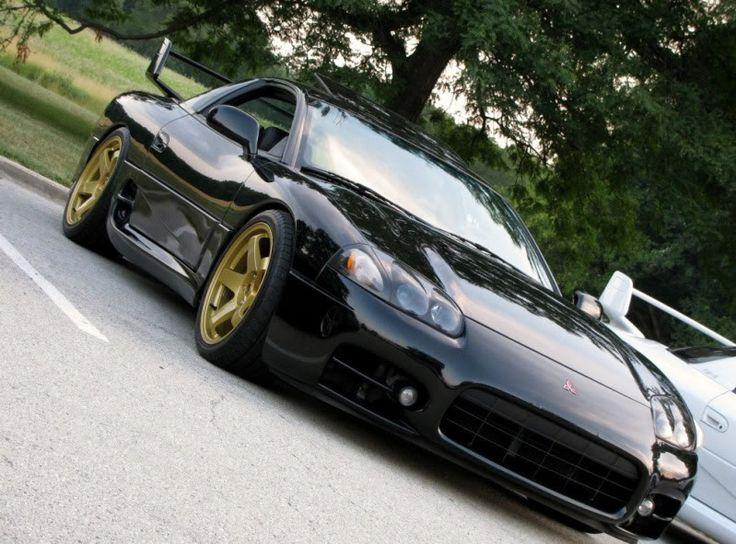 Mitsubishi 3000GT VR-4 Would love to find one of these someday.