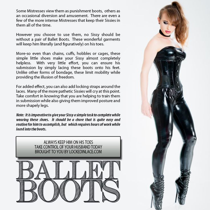Ballet Boots - Keep Him On His Toes