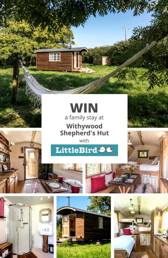 Win a family weekend break at Withywood Shepherd's Hut  #winitwednesday #competition #win #glamping