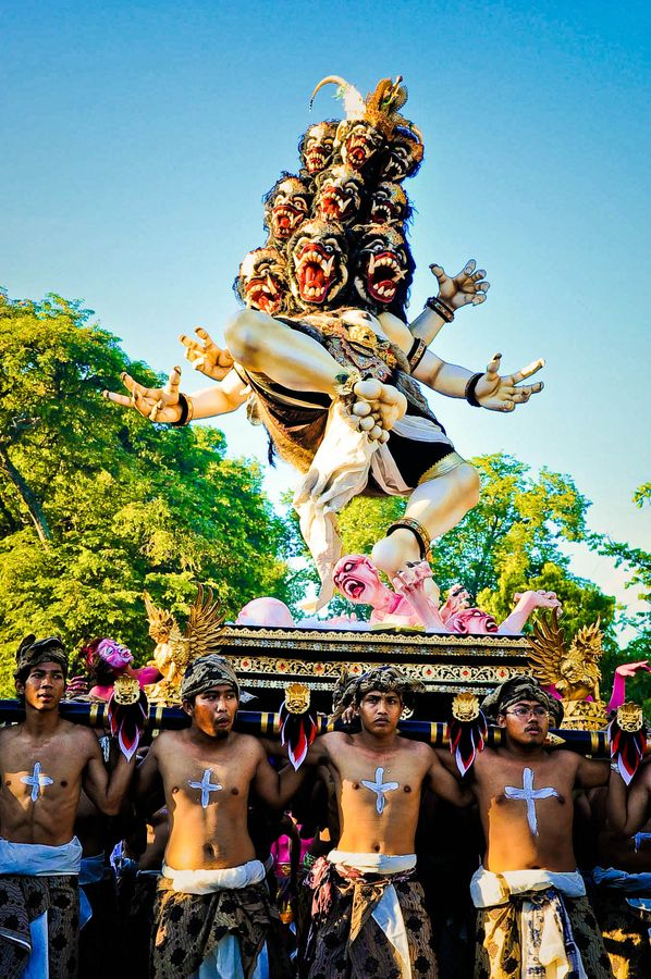 Ogoh Ogoh festival, Bali, Indonesia We can get you there! www.davisvilletravel.com