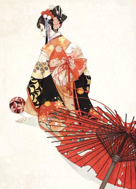 Japanese Paper Umbrellas!! - pixiv Spotlight