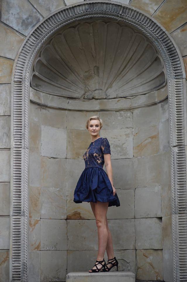 dress fashion designer  Gabriela Hezner  fot. Karolina Komosa  modelka Ka Bożena