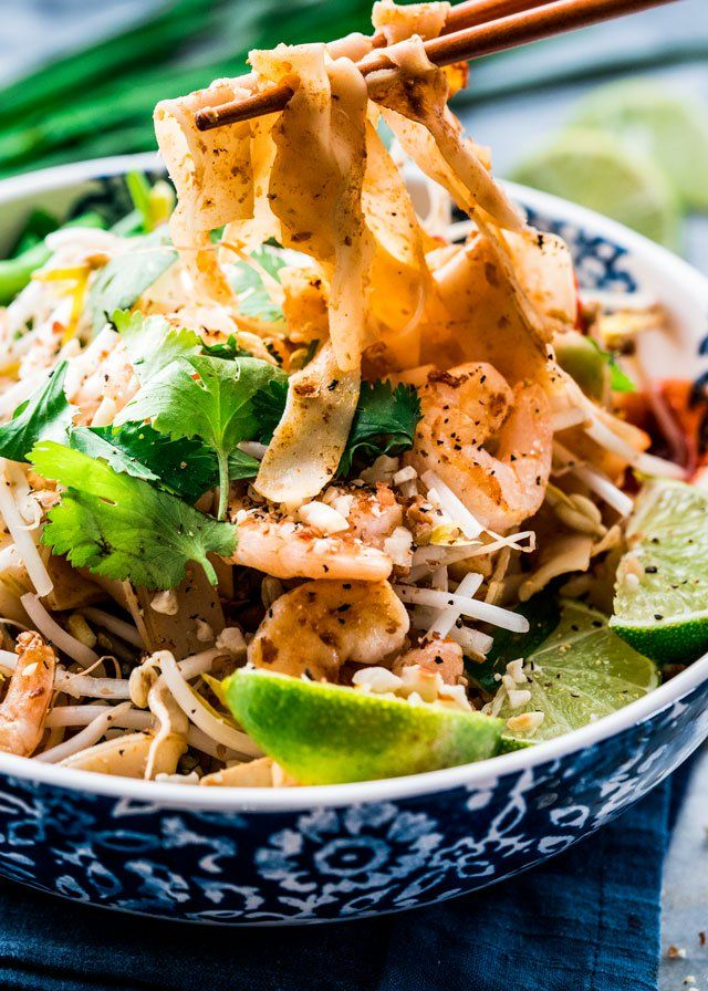 This Pad Thai with Shrimp and Tofu gives you all the flavors and taste of the authentic Pad Thai, in the comfort of your home.