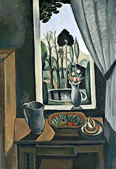 Andre Derain, Window at Vers