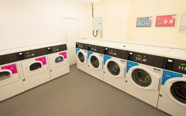 Keep on top of your laundry in our on-site launderette.