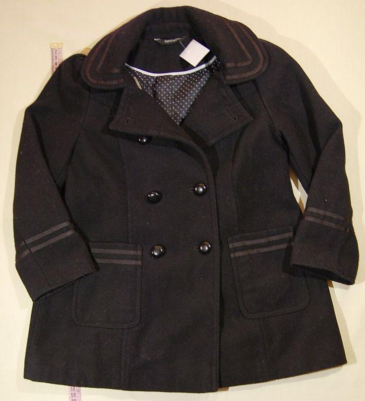 2150 Ft.    Kabát - fekete szövet kabát (George)