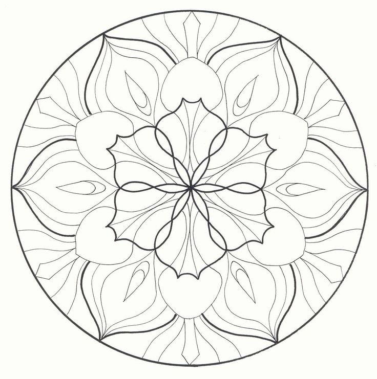 50 Best Images About Mandala Coloring On Pinterest