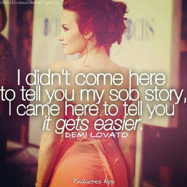 Demi Lovato AND I ARE THE SAME PERSON UGH