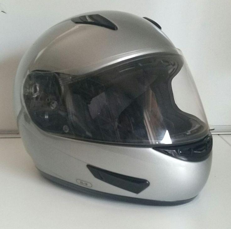 HJC HJ-09C Motorcycle Helmet DOT Snell Approved Size Small S Gray Silver Unisex #HJCHelmets #Motorcycle