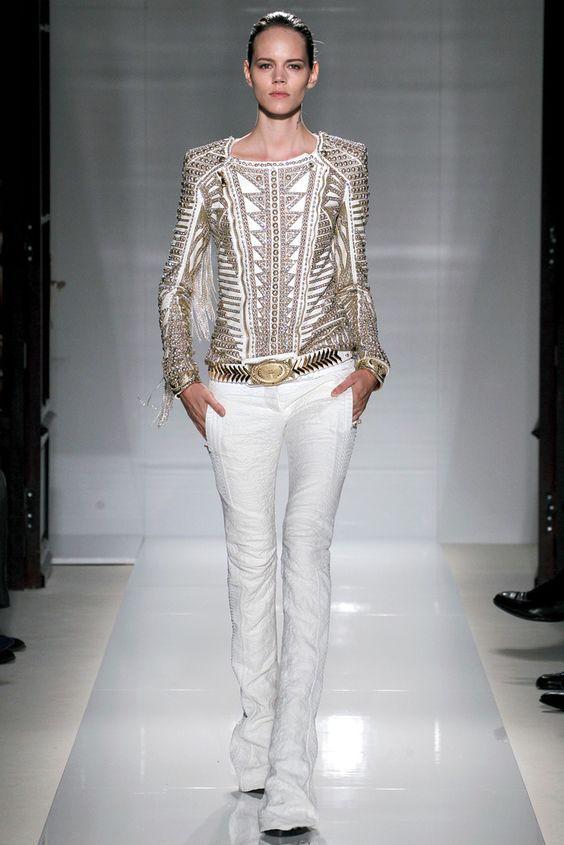 Balmain Fashion Show & More Luxury Details