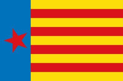 Estrelada de Esquerra Valenciana #bandera #valencia #esquerra #estrelada