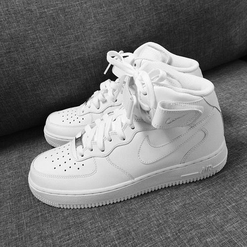 New white nike Air Force ones (AF1s)