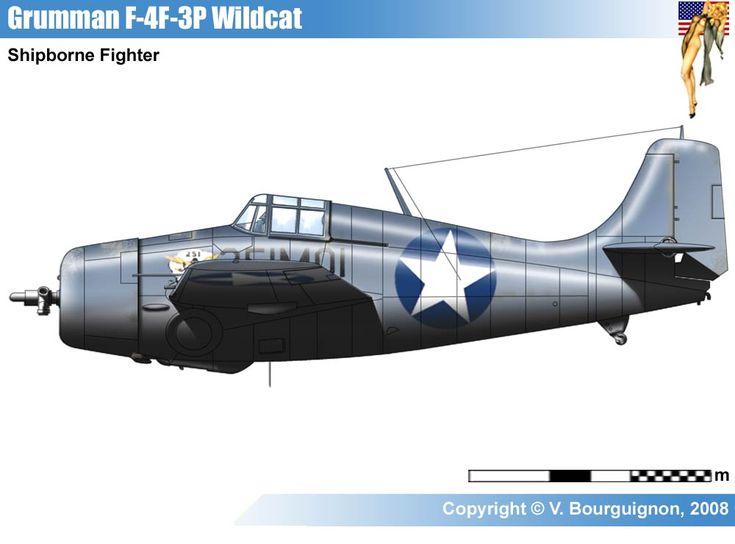 Grumman F4F-3P Wildlcat
