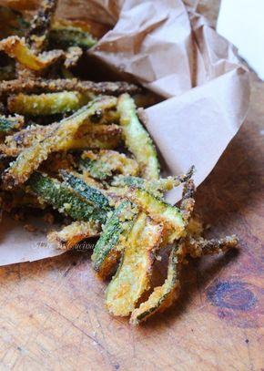 Zucchine croccanti al forno ricetta sfiziosa vickyart arte in cucina