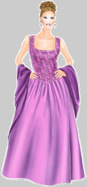 Evening dress pattern - alter to make an adult princess gown