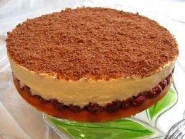 фото торта из творога