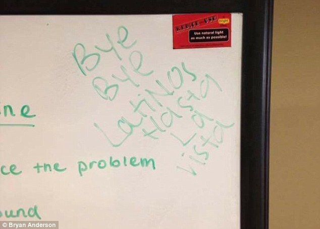 Elon University student scrawls racist note on classroom whiteboard