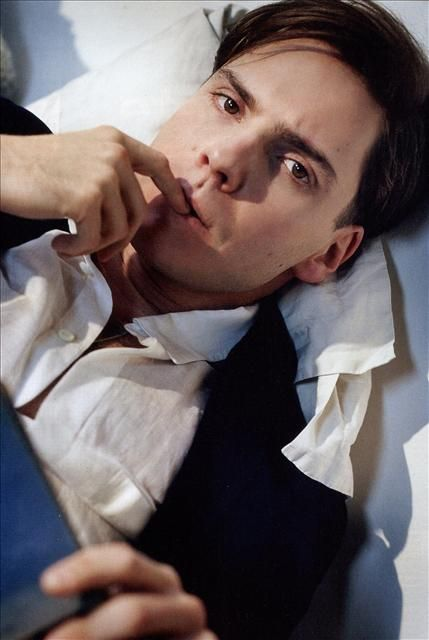 Daniel Bruhl - probably the most famous pic of him (thus far) in US magazines..