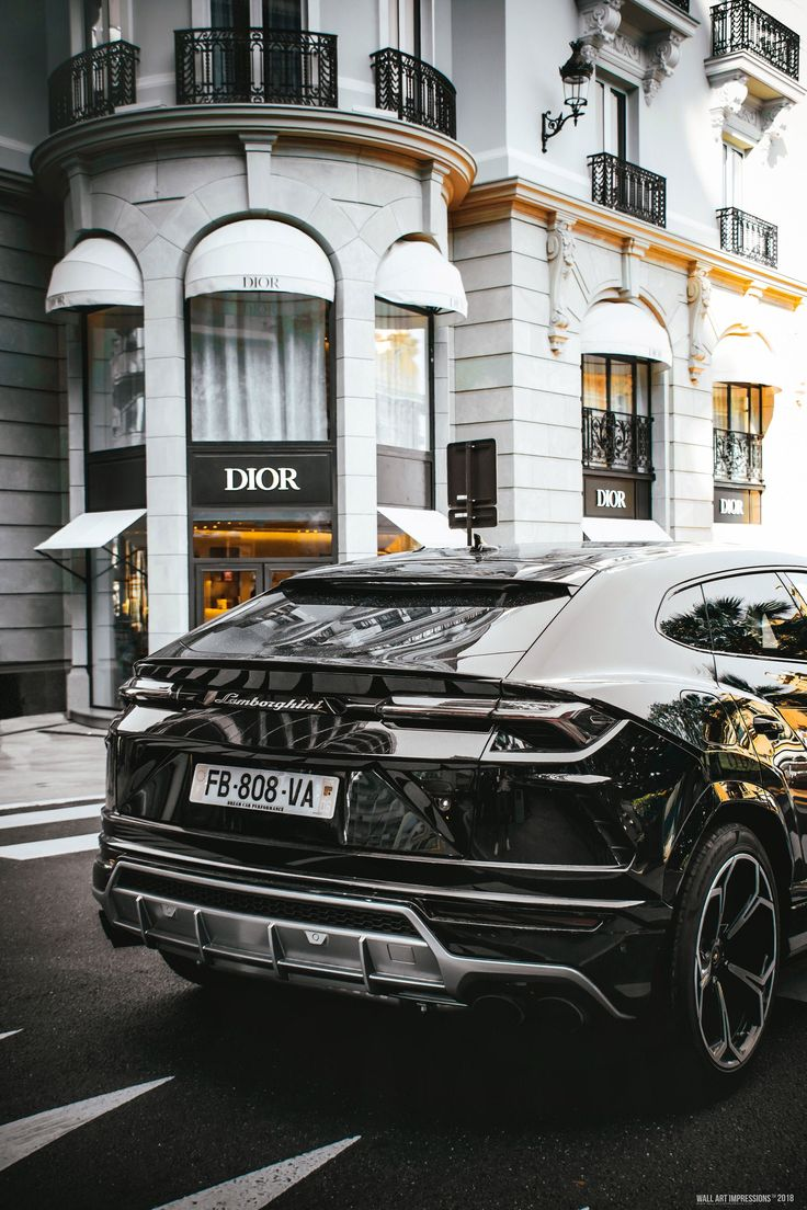 Urus Across Dior Store 24x36 Etsy in 2020